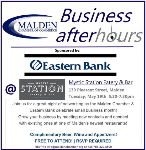 BAH @ Mystic Station w Eastern Bank Sponsorship