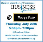 Business After Hours @ Henry's Patio