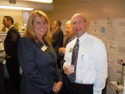 Diane and Jim @ Business After Hours @ Housing Families