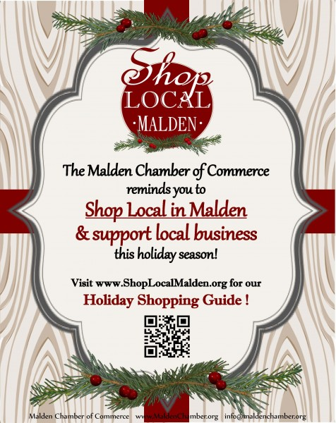 Holiday Shopping Guide Flyer
